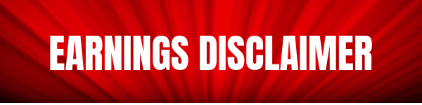 Earnings Disclaimer >> Earnings Disclaimer